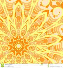 Sun Pattern Extraordinary Orange Sun Pattern Stock Vector Illustration Of Circle 48