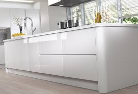 kitchen modern white. Modern Contemporary Strada Gloss Kitchen Island Unit In White 2