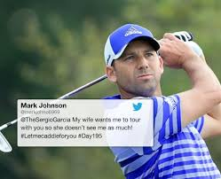 Sergio Garcia lets a fan be his caddie : theCHIVE