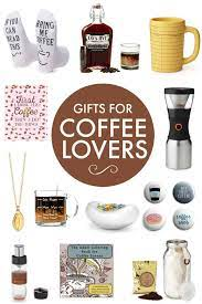 From the coffee machine to coffee grinder, coffee accessories, coffee books, fun coffee stuff, and much more all the coffee lovers on your gift list will really like our thoughtful, unique gift ideas below. 22 Best Coffee Gifts For Coffee Lovers 2020