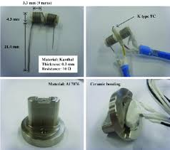 custom made heater constructed using kanthal wire with a thickness Resistance of a Wire at Resistance Wire Heater Diagram