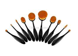 best makeup brushes set oval blending brush multipurpose mermaid toothbrush foundation powder soft face brushes professional makeup tools good makeup