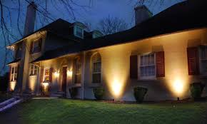 lighting a house. Evening Shadows Home Brick General House Lighting By A D