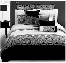 whole 3d bedding sets classical black white retro paisley bedding set bed linen duvet cover pillowcase bed sheet king queen size twin comforter cover