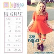Saison Blanche Size Chart 9 Best Lularoe Sizing Charts Images Lularoe Sizing