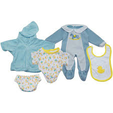 Baby Doll Clothes At Walmart Gorgeous DOLL CLOTHES SET OF 32 BOY OUTFITS Walmart