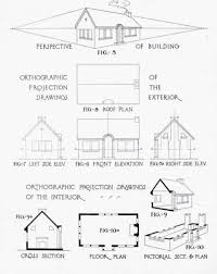 95 best orthographic drawing (i) images on pinterest Eames House Plan Section Elevation orthographic drawing kervin swandi kelas 1 kelompok 5 orthographic drawinghouse plans Eames House Interior