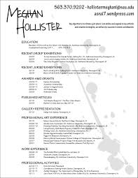 Artist Resume Template 10 Example Art Teacher Free Sample