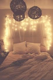bedroom lighting pinterest. White Bedroom With Christmas Lights Lighting Pinterest