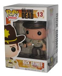 The Walking Dead Rick Grimes Funko Pop Vinyl Figur 13 Ebay