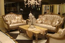 arabic living room furniture. Classy Beige Leather Tufted Sofa For Your Arabic Style Living Room Interior Furniture R