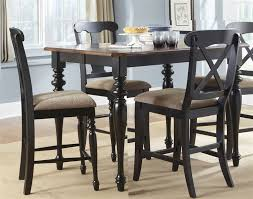 black counter height table and chairs stunning court x back 5 piece gathering set in home