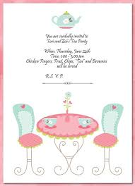 tea party invitations free template nice the tea party invitation template free templates in