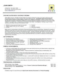 Construction Superintendent Resume Examples And Samples Resume