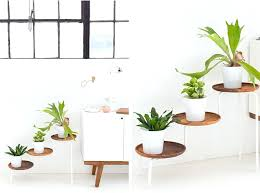 diy wooden plant stand acacia wood plant stand