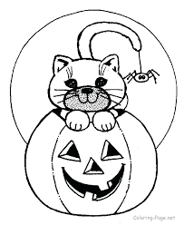 Halloween Coloring Pages For Kindergarten Coloring Pages For