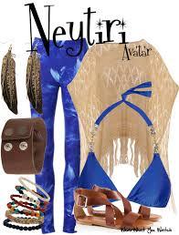 inspired by zoe saldana as neytiri in 2009 s avatar