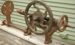 champion forge blower. vintage primitive champion blower \u0026 forge co hand crank post wall drill press   collectors weekly i