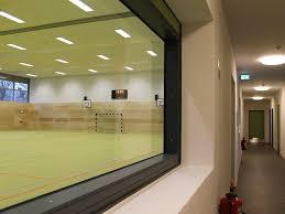 Auf LED Beleuchtung Umgerüstete Sporthalle