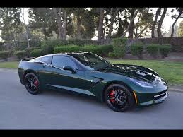 SOLD C7 2014 Chevrolet Corvette Coupe Lime Rock Green for sale by ...