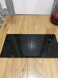9 black sparkle granite tiles