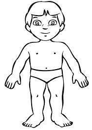 Il Meglio Di Disegni Da Colorare Per Bambini Sul Corpo Umano