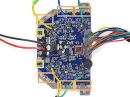 swagway teardown ifixit swagtron t3 flashing green lights at Hoverboard Wiring Diagram