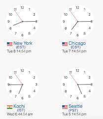Pst To Est Conversion Chart 12 Punctual Time Zone Est