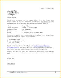 Brilliant Ideas Of Contoh Application Letter Fresh Graduate