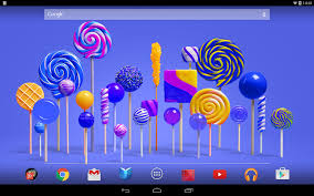 lollipop live wallpaper