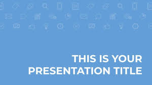 Blue Powerpoint Theme Free Blue And Corporate Powerpoint Template Or Google Slides