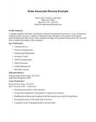Resume Examples Retail Resumes Curriculum Vitae Sampletailsumes