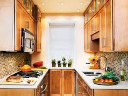 orange brown kitchen love the glass tiles and maple cabinets in small galley kitchen kitchens designs a63 designs