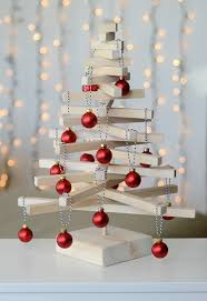 DIY Wooden Christmas Tree CraftWooden Branch Christmas Tree