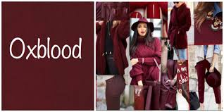 what color is oxblood. Fine Oxblood Oxblood Is A Deep Shade Of Red Somewhat Resembling An Expensive Glass  Cabernet This Color Adds Radiance To Any Fall Ensemble With What Color Is