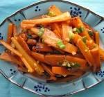 carrot   orange stir fry