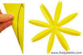 Folding Paper Flower Paper Cut Flowers Pattern Step By Step Flowers Healthy