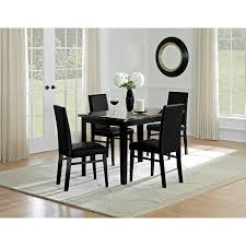 City Furniture Dining Room Shadow Table And 4 Chairs Black Value City Furniture