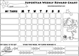 Behaviour Chart Chore Chart Reward Charts Behavior Chart