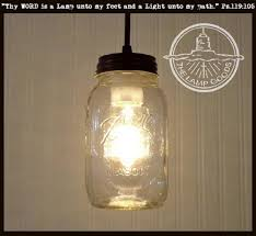 mason jar pendant lighting. Mason Jar PENDANT Light NEW Quart Pendant Lighting M