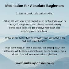 Andrew Johnson - Meditation for ...