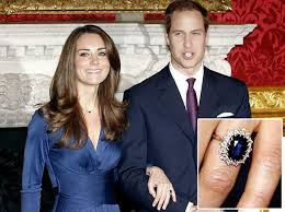 Unfollow kate middleton engagement ring to stop getting updates on your ebay feed. Kate Middleton Wears Princess Diana S 18 Carat Sapphire And Diamond Ring Inspires Replicas New York Daily News