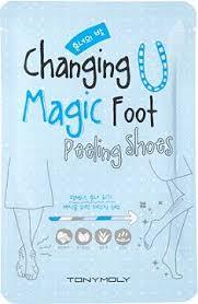tonymoly changing magic foot ling shoes