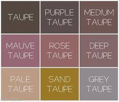 Shades Of Taupe Chart Mauve Color Chart Pleasant This Month We Re Crazy About