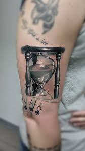 Hourglass Tattoo By Roberto Limited Availability At Redemption