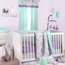 lavender and gray nursery bedding bedding designs