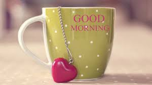 Good Morning Love Heart Coffee Cup HD ...