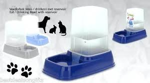 water dispenser for cat automatic pet bowl food dog catalogue cats t34