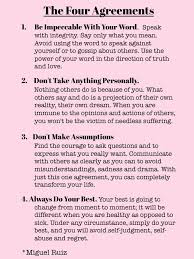 Four Agreements Quotes
