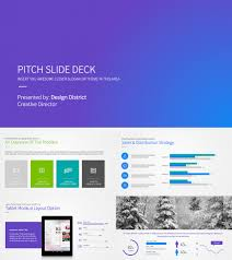 Business Plan Template Point Best Pitch Deck Templates For
